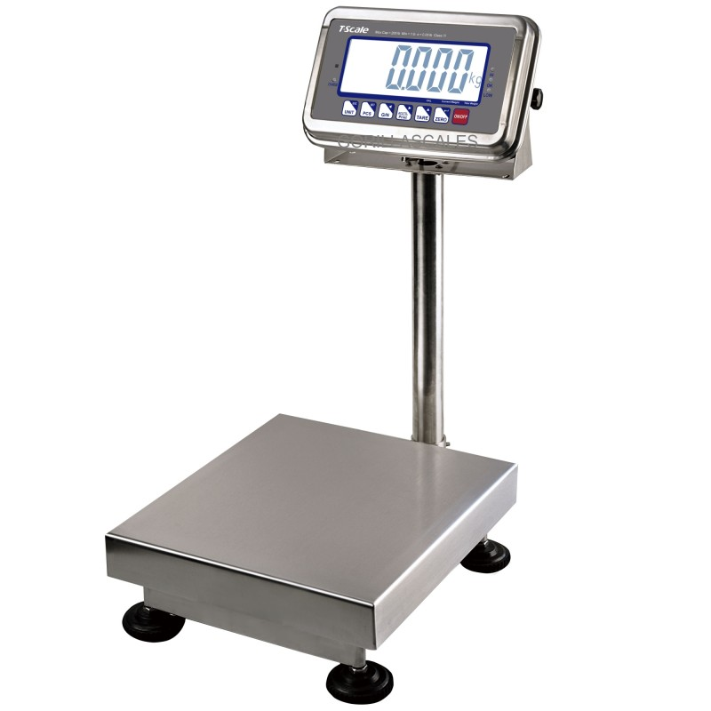 T Scale Bws 50 Ntep Platform Bench Floor Scale 50lb X 0