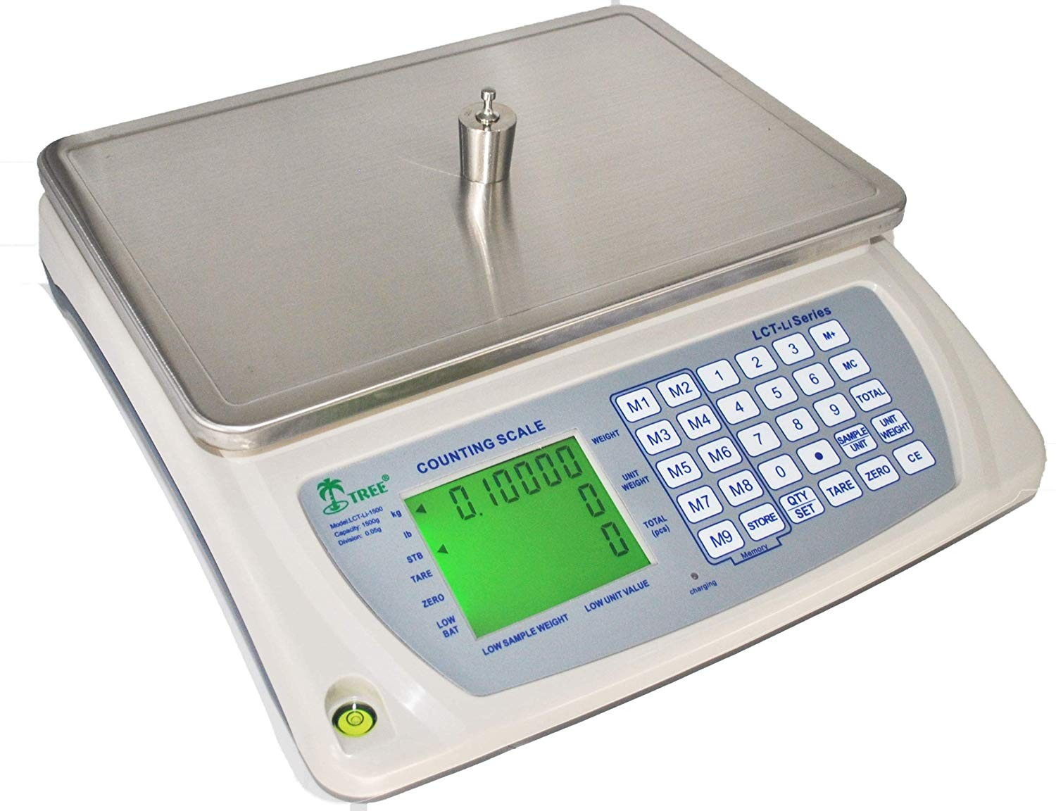 Tree LCT-16 Digital Bench Scale Counting Balance 16 lb x 0 0005 lb